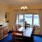 Dining room for 6 with lovely sea views