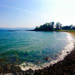 Ascog Bay with sandy beach