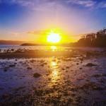 Breathtaking sunrise over Ascog Bay